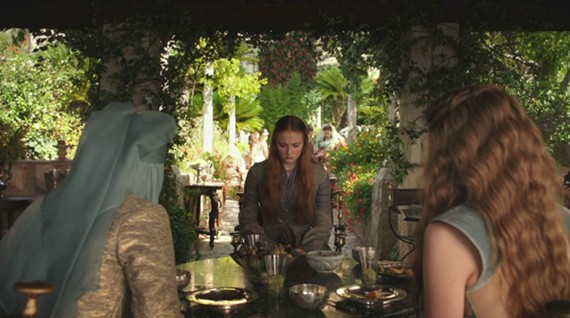 Juego de Tronos - 'Alas Negras, Palabras Negras'. Sansa y las Tyrell