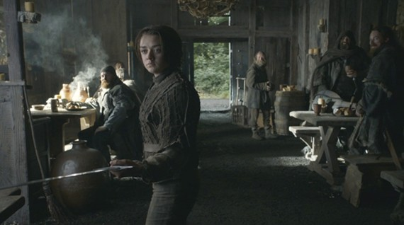 Juego de Tronos - 'Alas Negras, Palabras Negras'. Arya, la auténtica Stark