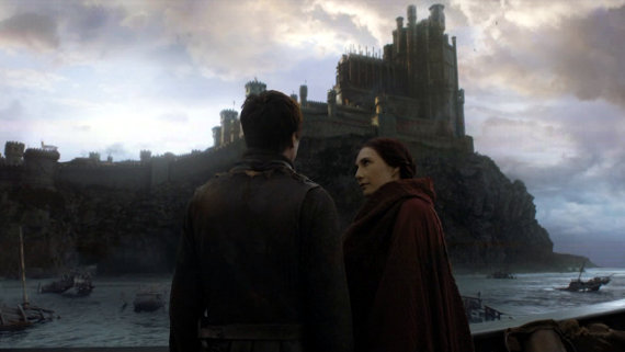 Juego de Tronos - El Oso y la Doncella. Gendry y Melisandre navegan por Desembarco del Rey