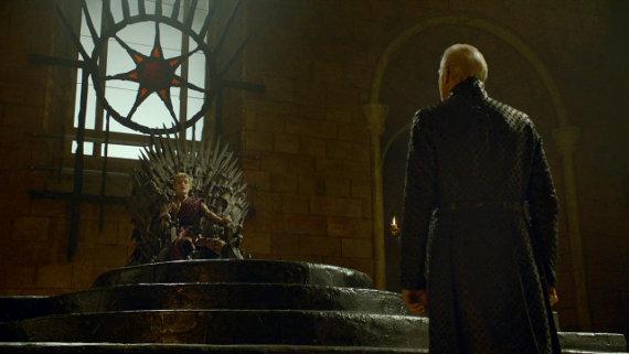 Juego de Tronos - El Oso y la Doncella. Tywin Lannister y El trono de Hierro