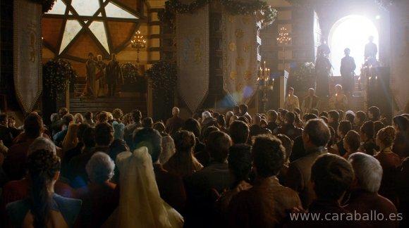 Juego de Tronos - El león y la rosa. Boda real en Desembarco del Rey