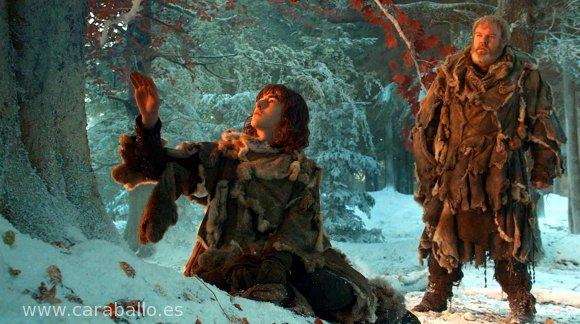 Juego de Tronos - El león y la rosa. Bran y un árbol arciano