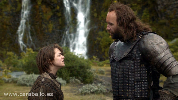 Juego de Tronos - El primero de su nombre. Arya, el Perro y las maneras de usar una espadaº