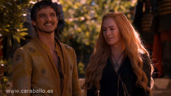 Juego de Tronos - El primero de su nombre. Oberyn y Cersei