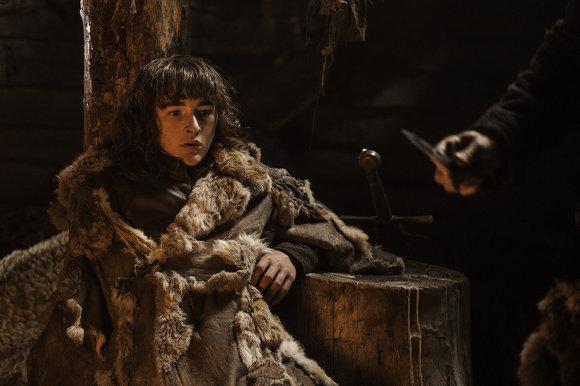 Juego de Tronos - Guardajuramentos. Bran Stark en la cabaña de Craster
