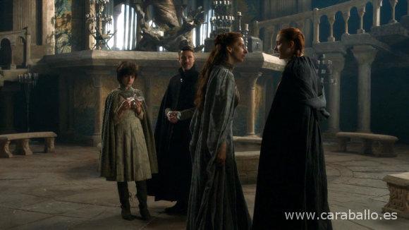 Juego de Tronos - Sansa y su tía en Nido de Águilas