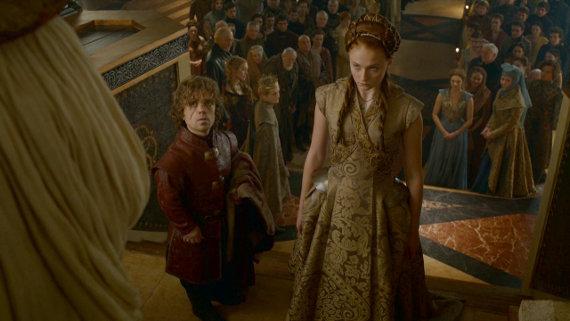 Juego de Tronos - Second Sons. El matrimonio de Tyrion Lannister y Sansa Stark