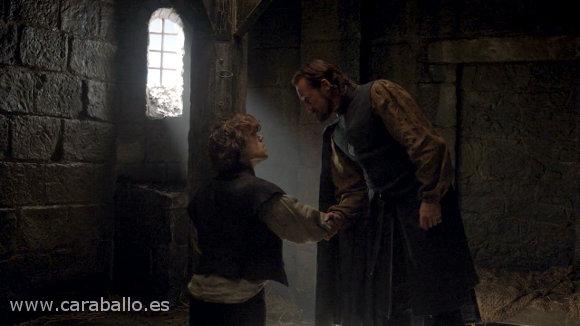 """Juego de Tronos - Sinsonte (Mockingbird). Bronn a Tyrion: """"Pasamos buenos ratos juntos"""""""