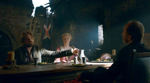Juego de Tronos - The Climb (El Ascenso). Jaime, Brienne y Roose Bolton