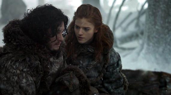 Juego de Tronos - The Climb (El Ascenso). Ygritte y Jon