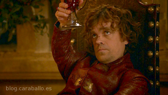 Juego de Tronos, tercera temporada. A la salud de Tyrion Lannister