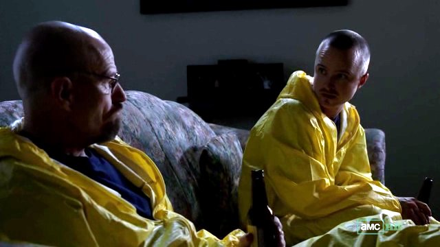 Papá Walt y su ahijado Jesse