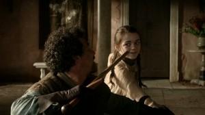 Syrio Forel y Arya Stark: primeras lecciones