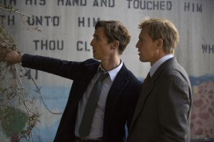 'True Detective'. Matthew McConaughey y Woody Harrelson