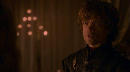 """Tyrion a Cersei: """"Llegará un día en el que te sientas segura y feliz, y de repente tu alegría se convertirá en cenizas en la boca, y ese día sabrás que la deuda ha quedado saldada."""""""