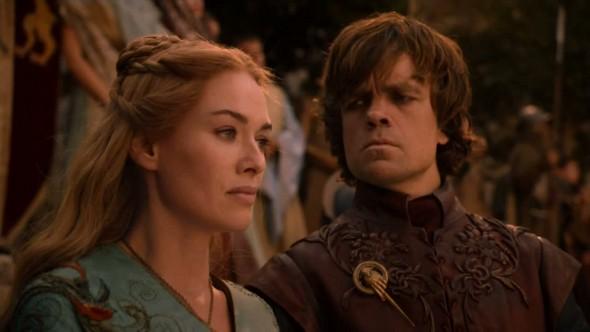 Tyrion y Cersei Lannister. Tan cerca, tan lejos...