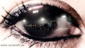Un instante en la estupenda cabecera creada por Elastic para True Detective.