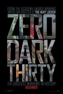 Póster de Zero Dark Thirty (La noche más oscura)