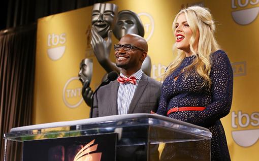 Taye Diggs y Busy Philipps anuncian los candidatos a los premios SAG 2012